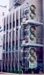 Зерносушилка Sukup из трех модулей